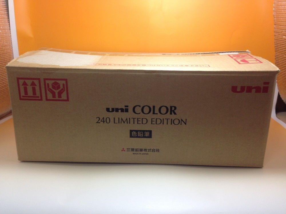 Mitsubishi uni COLOR 240 LIMITED EDITION 5000 2009 Japan new with container /376 #Mitsubishi
