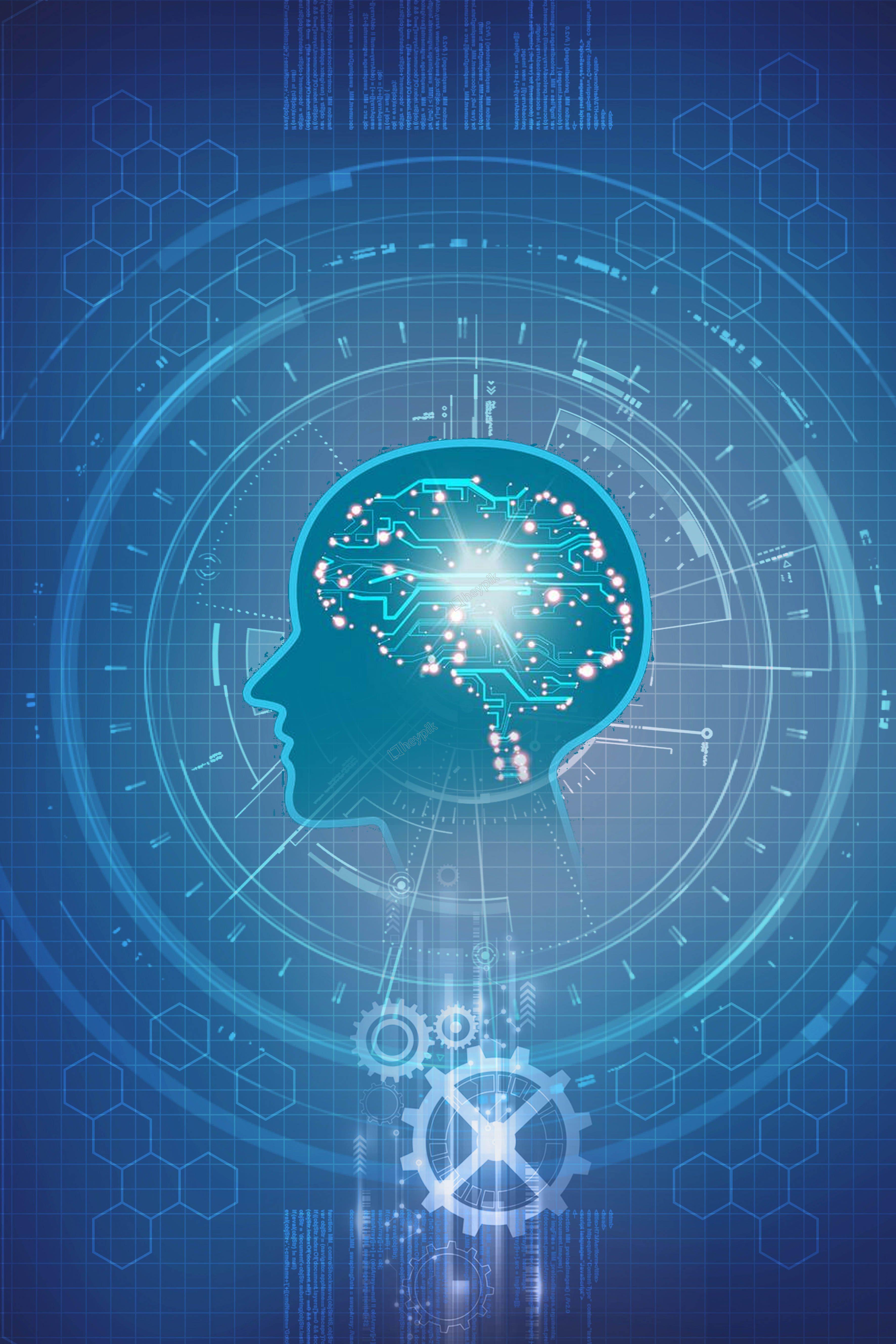 تكنولوجيا ذكاء الدماغ خريطة الإعلان التوليف الإبداعية