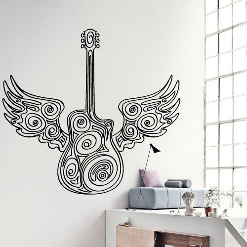 Amazon Com Music Wall Decals Musical Instrument Wall Decals