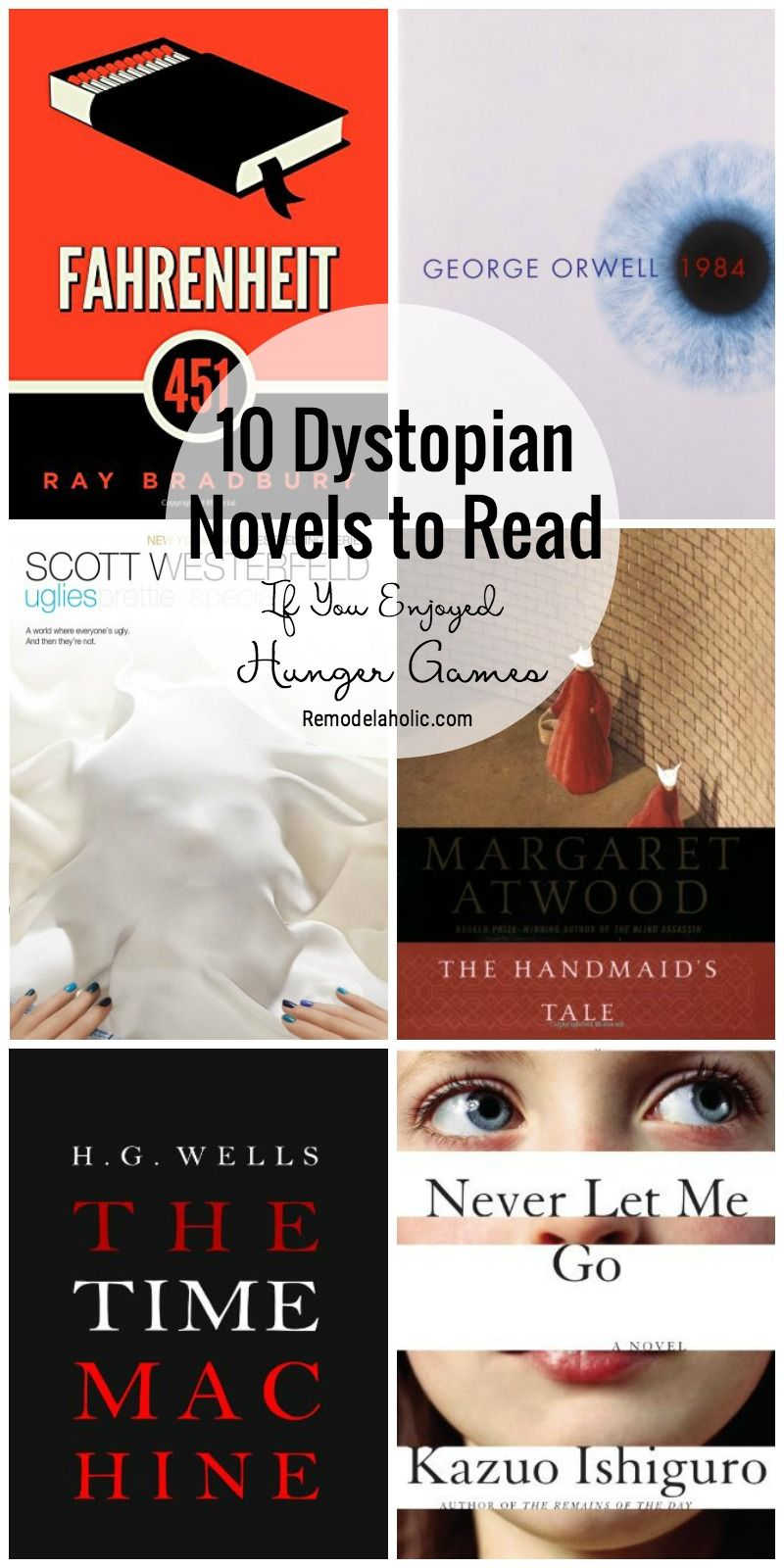 10 Dystopian Novels to Read If You Enjoyed Hunger Games featured on Remodelaholic.com