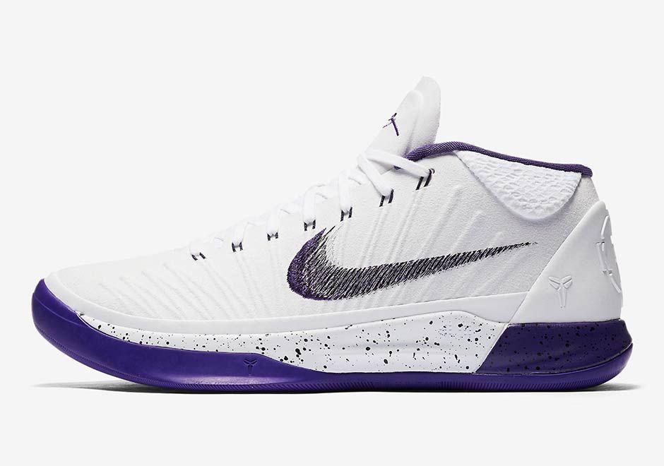 Nike Kobe AD Baseline White Purple 922482-100 | SneakerNews.com
