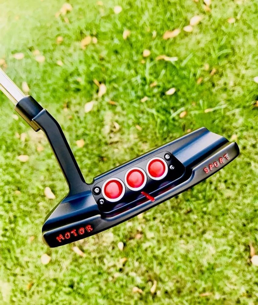 Scotty Cameron Custom Shop Jackpot Johnny Gallery MotorSport Newport 2 Putter Top Gear