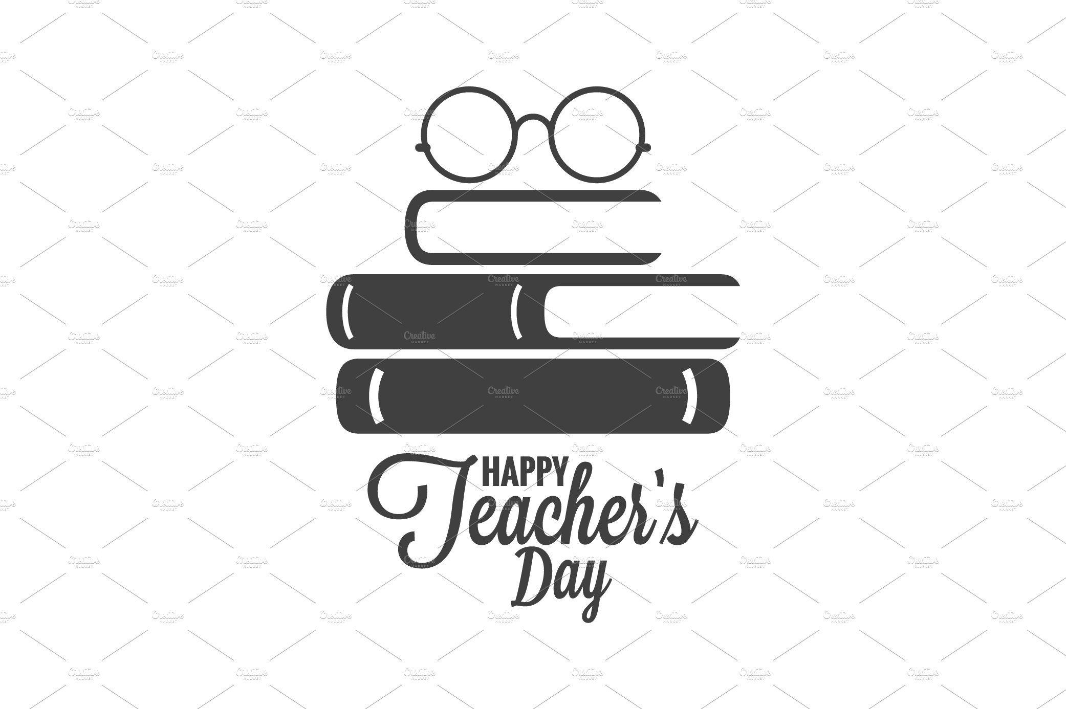 Happy teachers day icon affiliate whitelogo