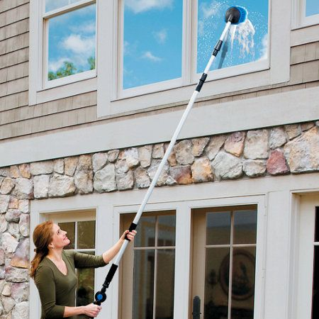 15 Telescoping House And Window Washer Set Washing Windows Outdoor Cleaning Window Washer