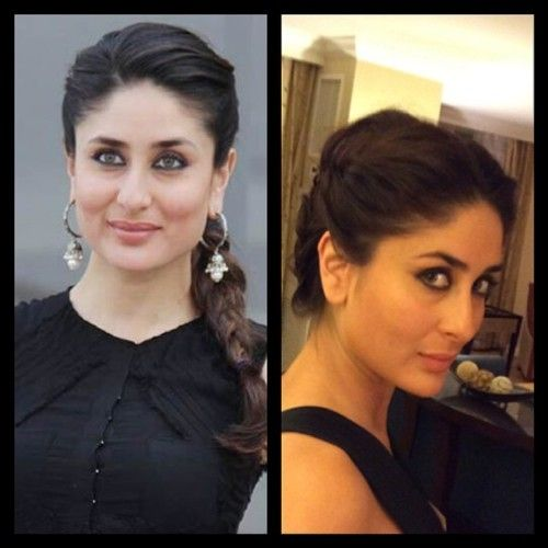 Image Result For Kareena Kapoor In Braid Kareena Kapoor Hairstyles Bollywood Hairstyles Open Hairstyles