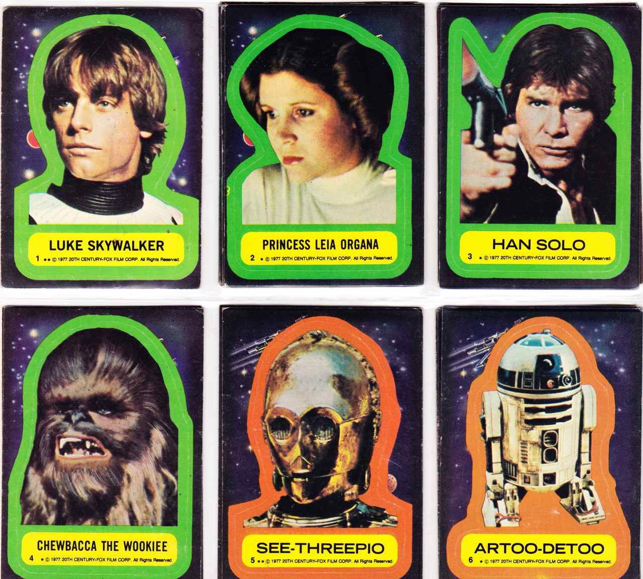 Topps-Star Wars Universe-sticker 5