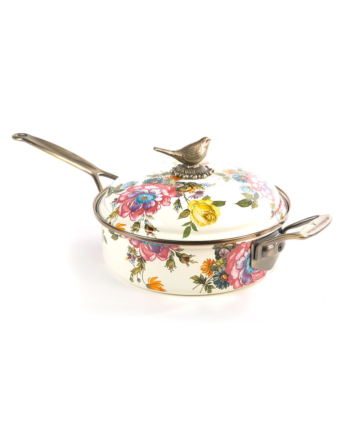 Flower Market 3 Quart Saute Pan