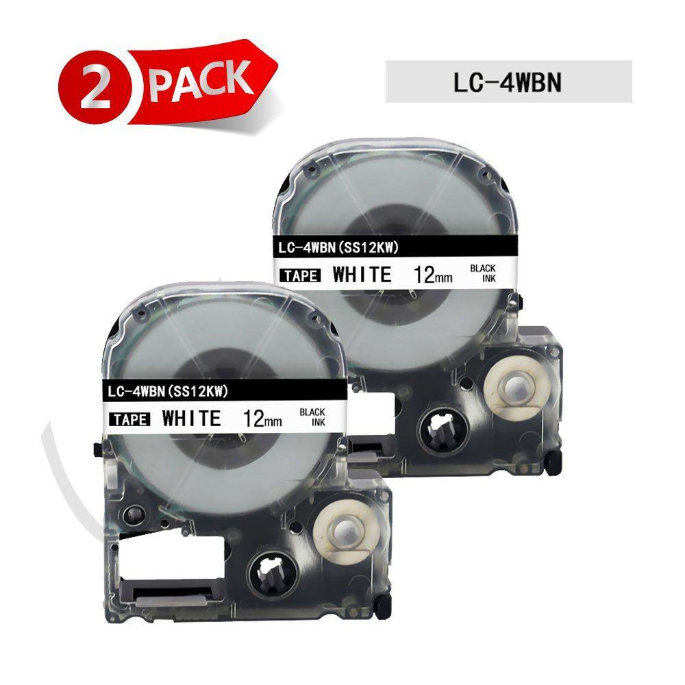 EPSON Ribbon LK-4WBN white//black