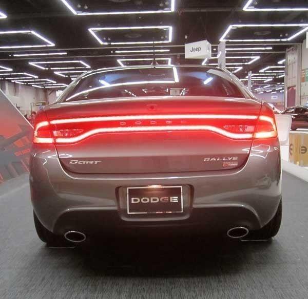 13 14 Dodge Dart Race Track Led Rear Tail Light Lamp Lighting Mopar Genuine Oem Mopar Dodge Dodge Dart Mopar