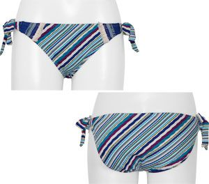 187738397850a Lucky Brand Mumbai Magic Printed Tie Side Bikini Bottom Blue Moon - Shop Lucky  Brand Sale Swimwear And Get Free Shipping