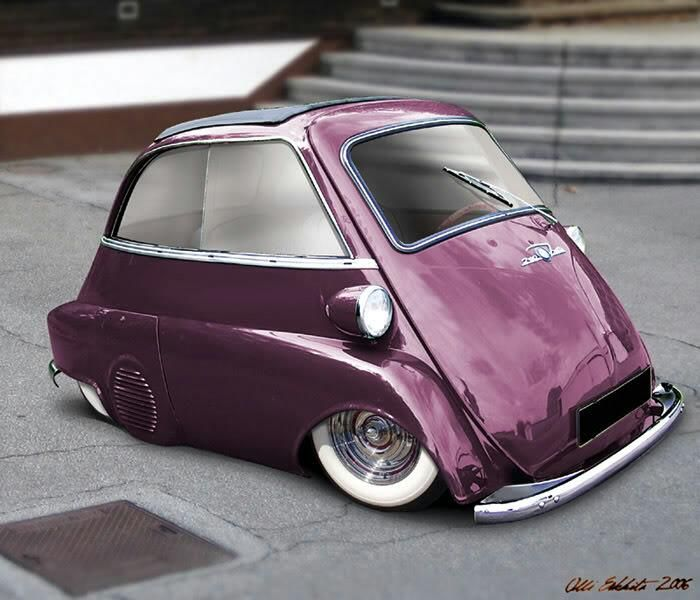 Bmw Isetta Slammed If It Was A Different Color I Would Love To