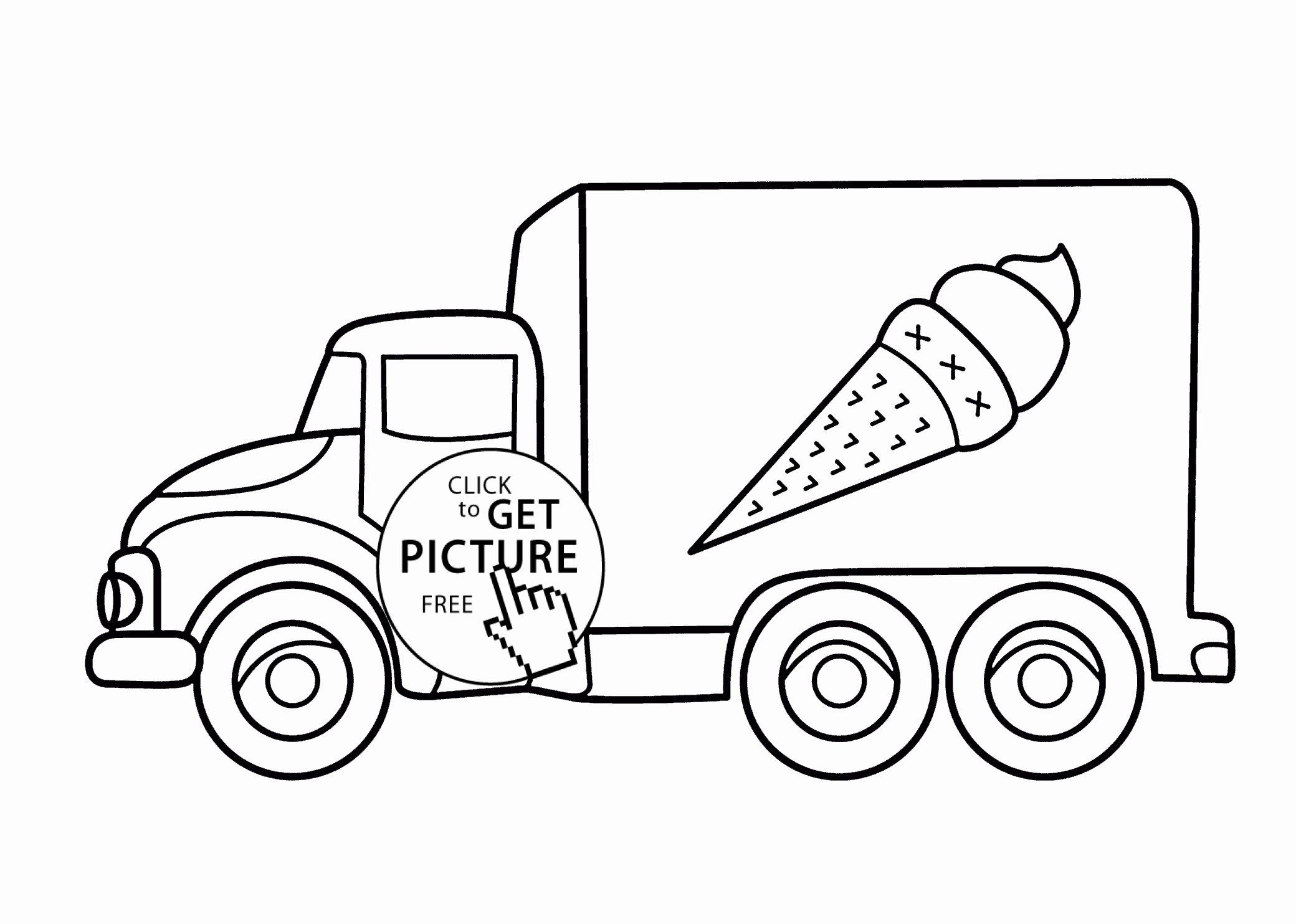 Transportation Coloring Pages For Toddlers Monster Truck