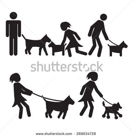 Stefan y yo ambos nos gusta caminar a los perros. iPerros son  divertidos!