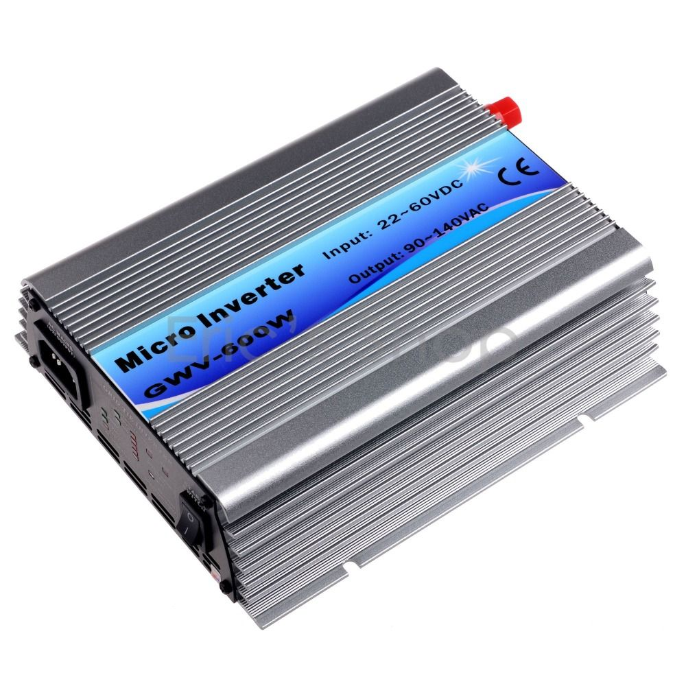 400W Grid Tie Inverter DC22V60V to AC110V(90140VAC) Pure