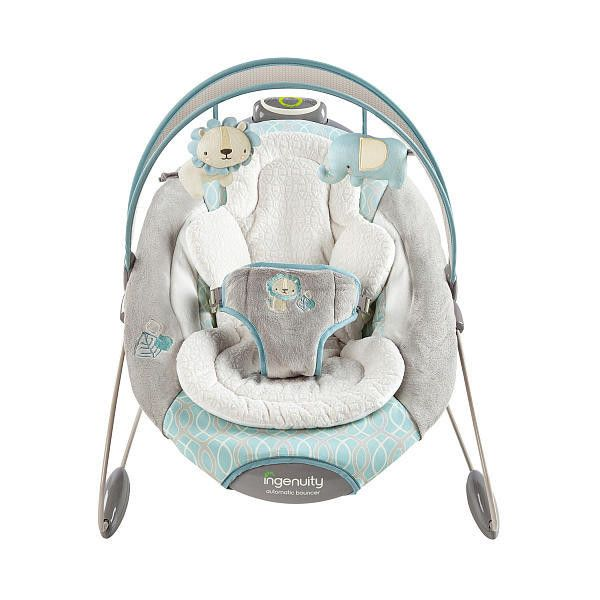 fe6cb1f1bbe New Infant Baby Ingenuity SmartBounce Automatic Bouncer - Cambridge in Baby