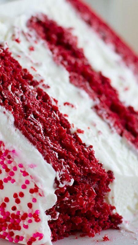 Red Velvet Ice Cream Cake Recipe Taste And Tell Recipe Velvet Ice Cream Red Velvet Ice Cream Ice Cream Cake