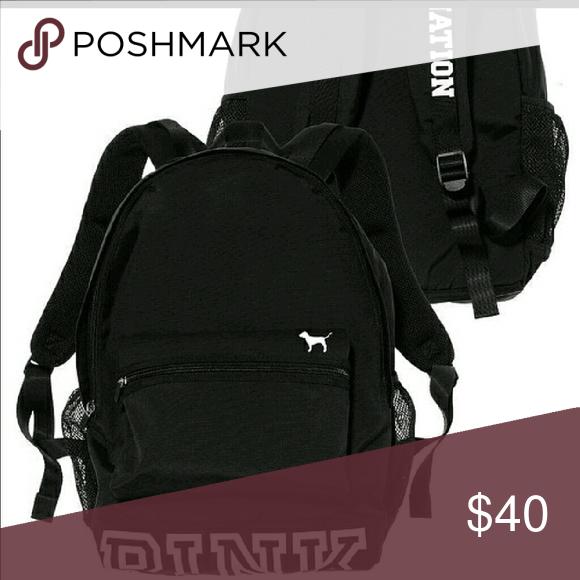 VS pink nation backpack Used once PINK Victoria's Secret Bags Backpacks