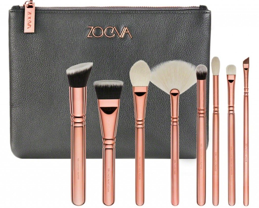 Luxie Beauty Rose Gold Synthetic Makeup Brushes Best