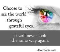 Transform your life by having an attitude of gratitude.