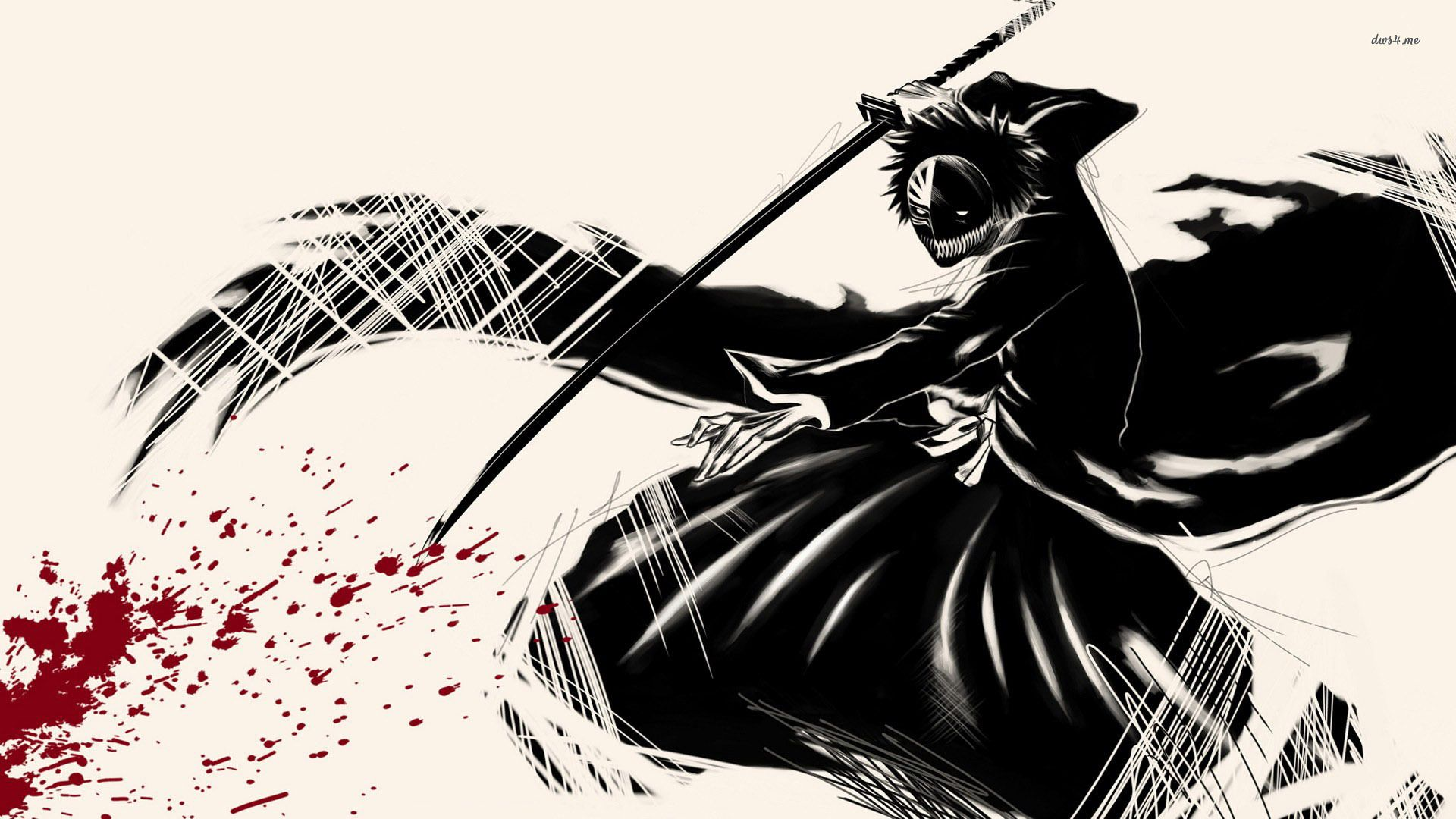 bleach Ichigo Hollow wallpaper bleach Pinterest