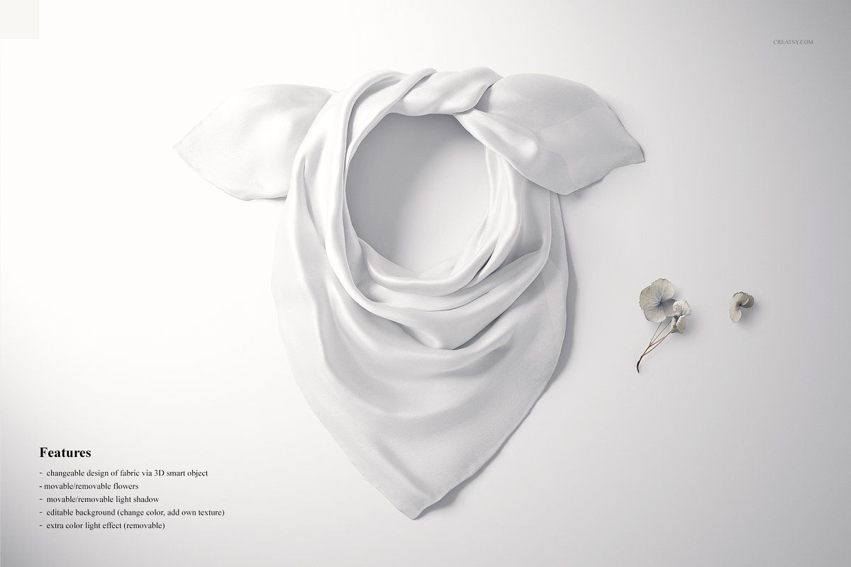 Download Wrapped Silk Scarf Mockup 22 Ffv 9 Fabric Factory Mockup Scarf