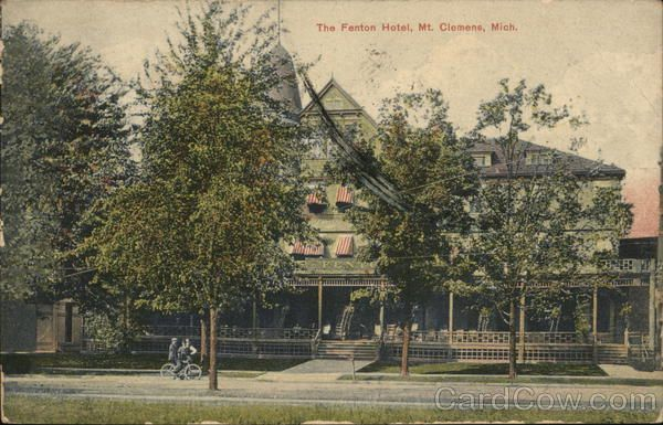The Fenton Hotel Mount Clemens Michigan