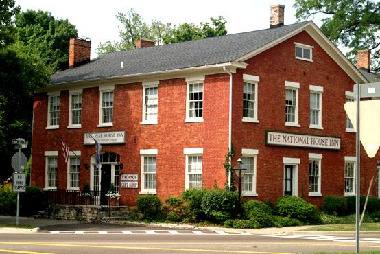 National House Inn  Marshall Michigan-Originally a stage coach stop between Detroit and Chicago.  Now a beautiful Bed & Breakfast