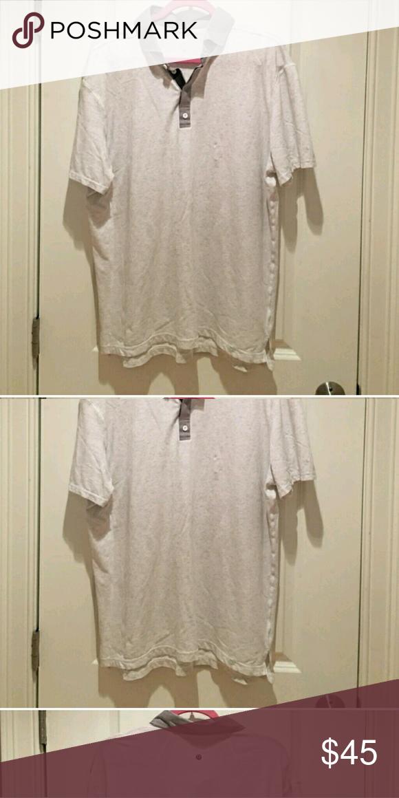 Lululemon Men's Grey Polo Shirt....Size XXL Like New Condition lululemon athletica Shirts Polos