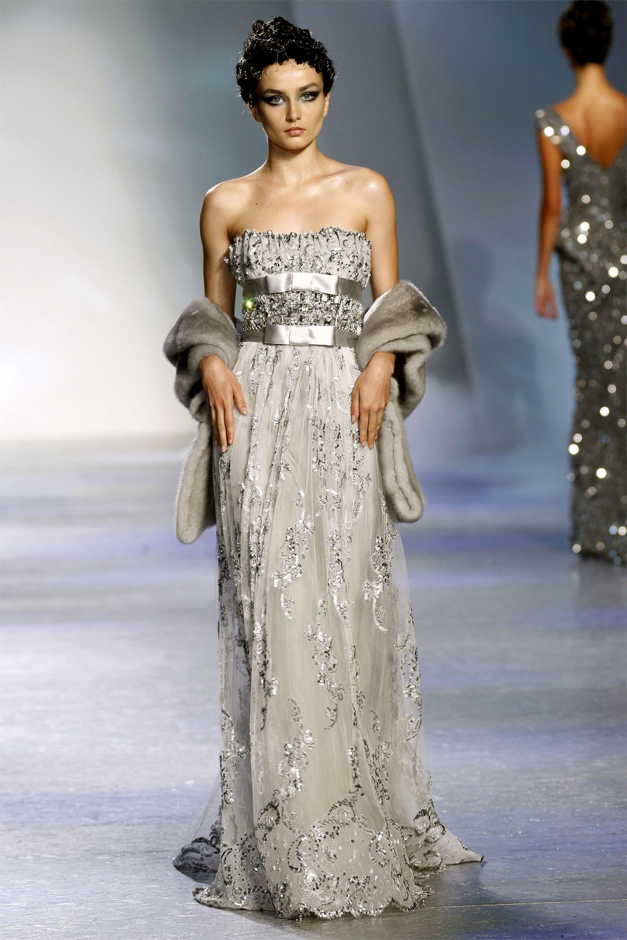 Haute Couture Fall Winter 2009/2010 - Paris Zuhair Murad ...