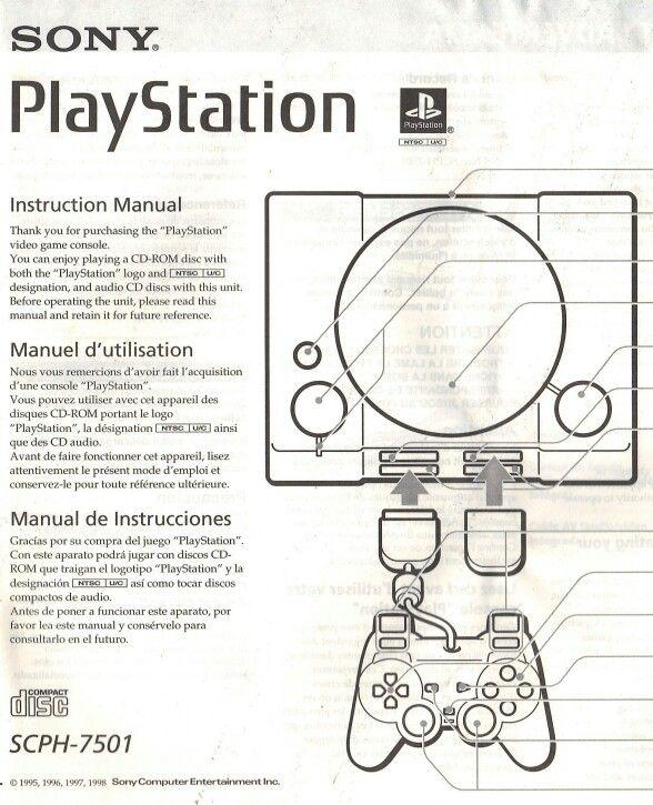 playstation instruction manual model scph 7501 old school rh pinterest com playstation vita instruction manual playstation 3 instruction manual online