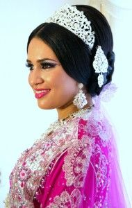 Marokkaanse bruid met sieraden van Ziana Farah
