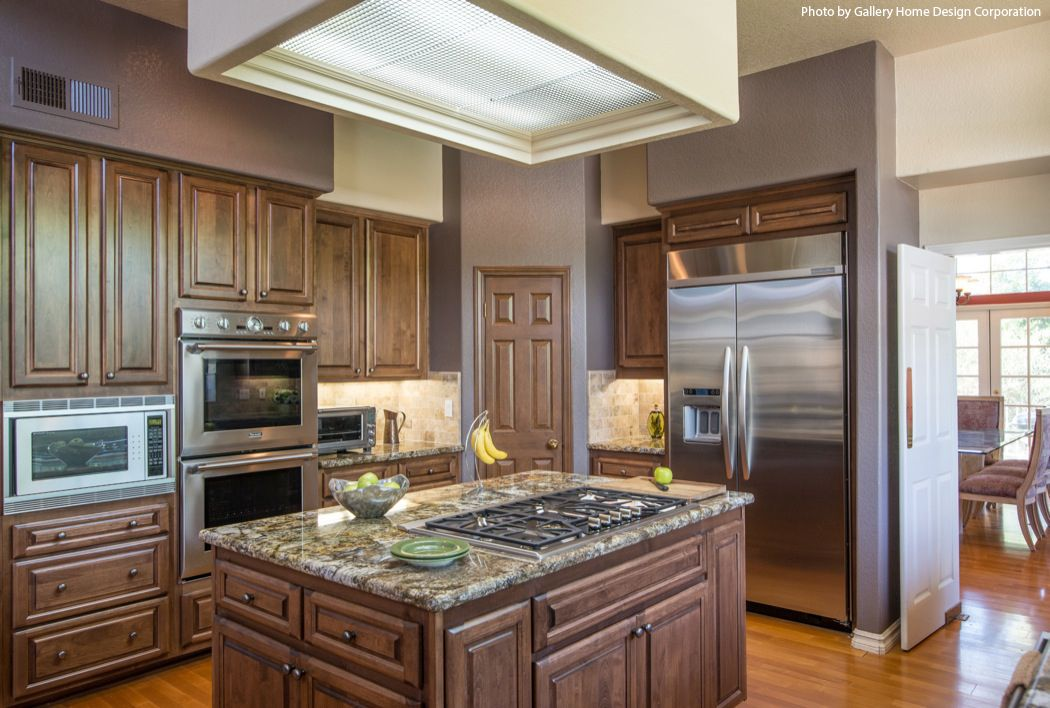 Traditional Kitchen Remodel With A Double Wall Over A Stainless Stunning Kitchen Remodel Cost Estimator Design Decoration