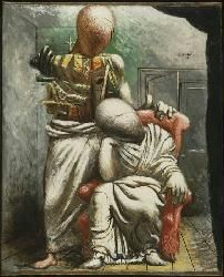 The Poet and His Muse. Giorgio De Chirico 1925