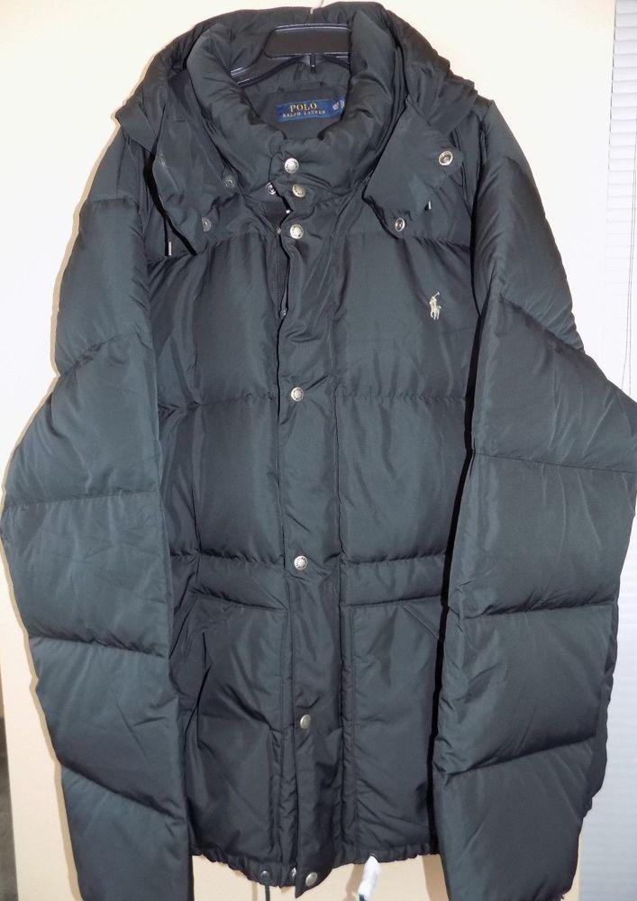 Nwt Polo Tall Lauren Elmwood Down Jacket Sz Black 4xlt Bigamp; Ralph 6Yfg7yb