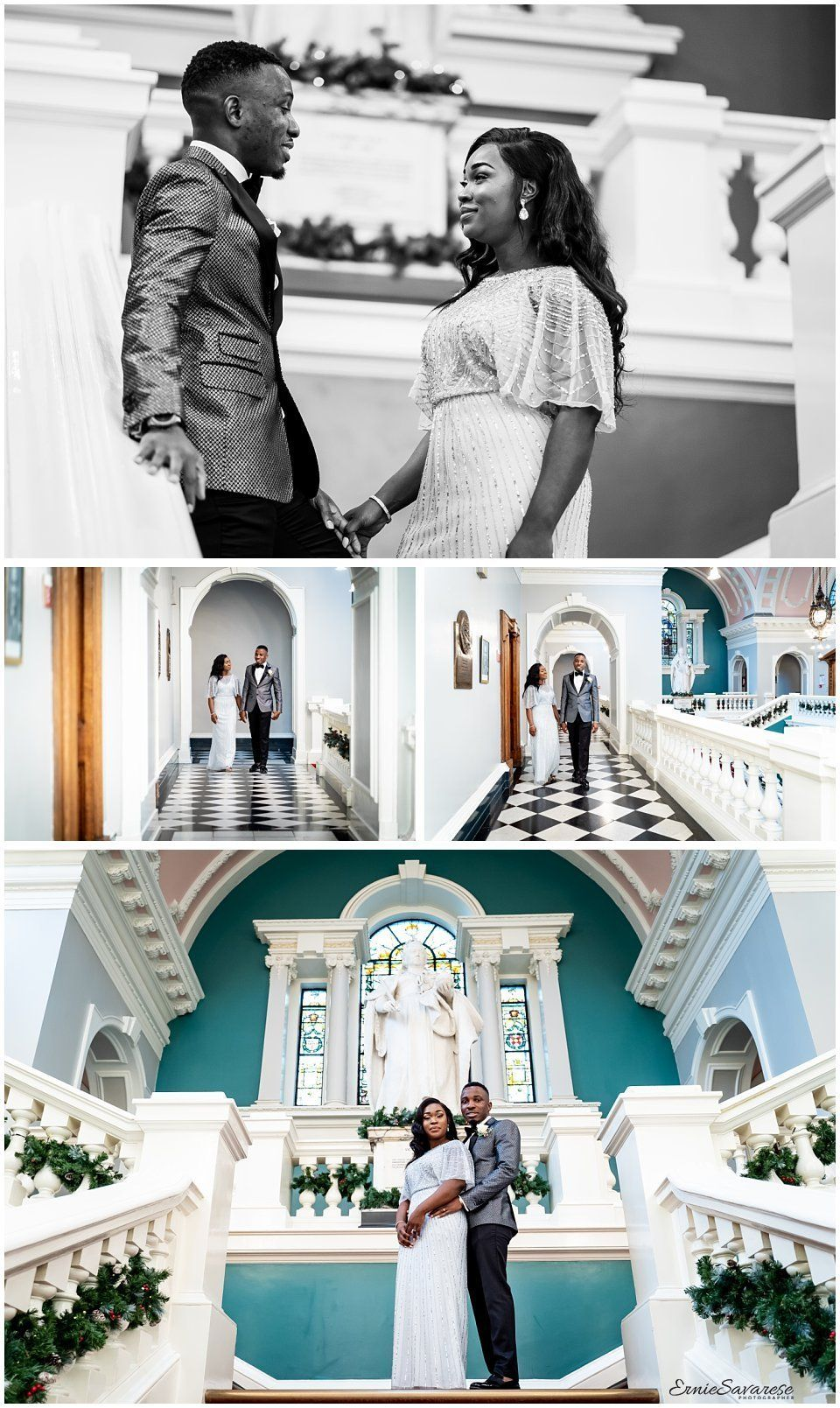 Woolwich Town Hall Wedding of Romana and Matthew