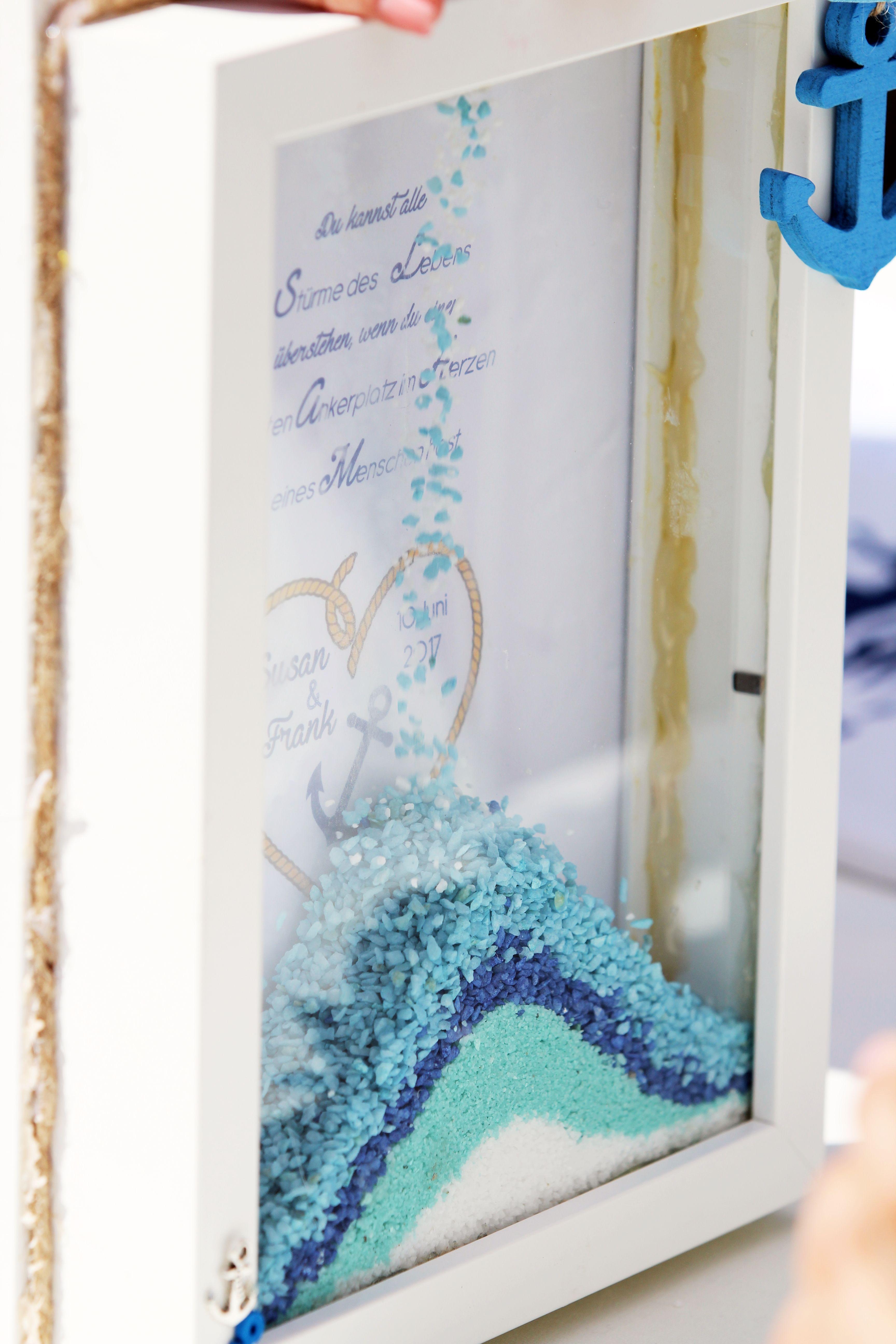 Sandritual Freie Trauung Zum Thema Maritim Deko Hochzeit Meer Zitat