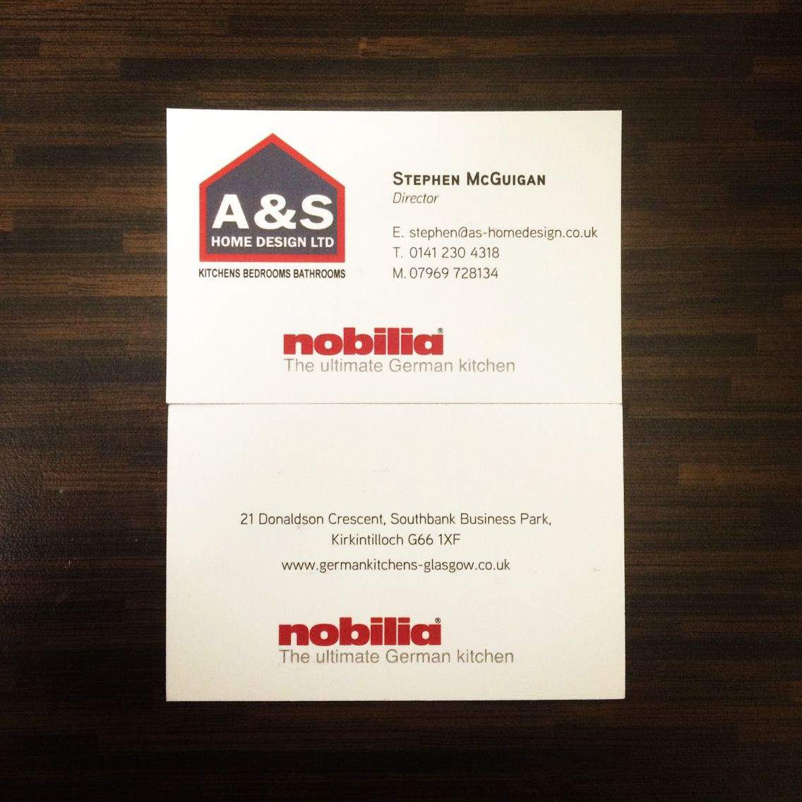 A&S Home Design Limited #director #company #kitchens #nobilia ...