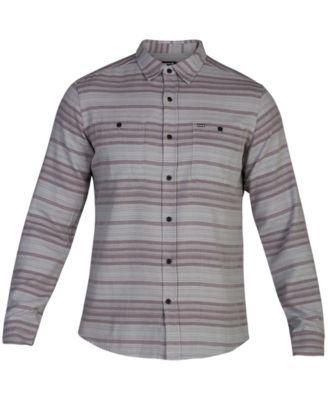 620d833910 Hurley Men's Blake Long Sleeve Shirt, Created for Macy's - Green 2XL ...