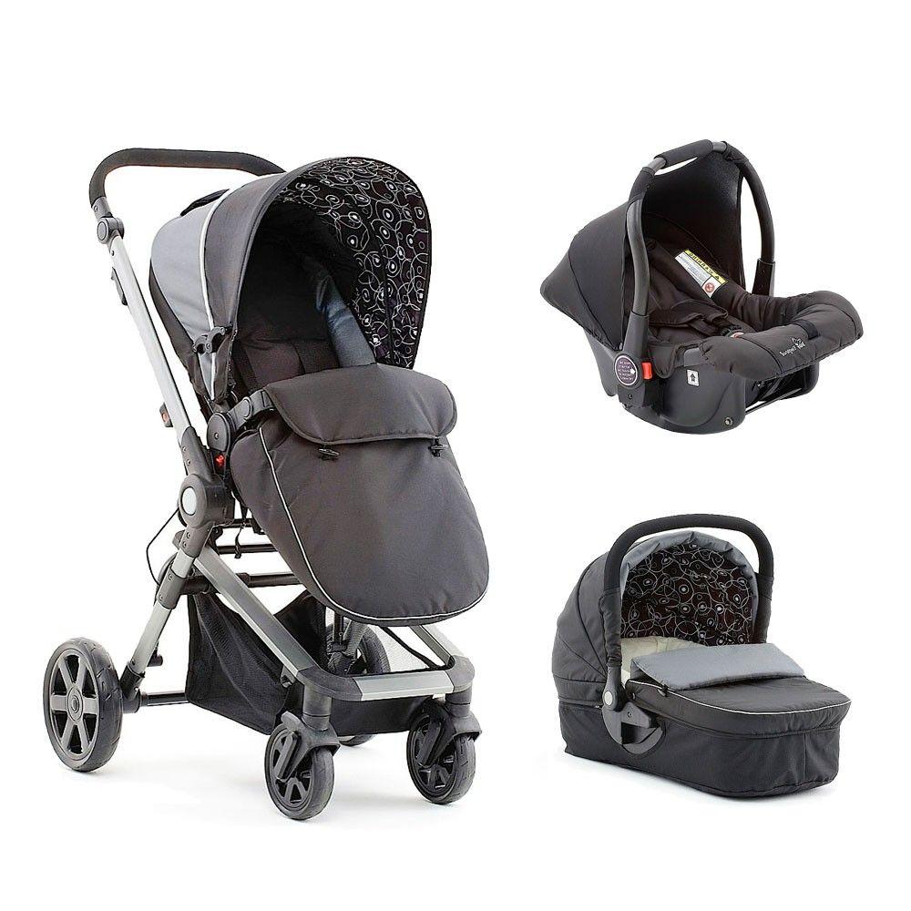 Baby Elegance Beep Twist Travel System Black at