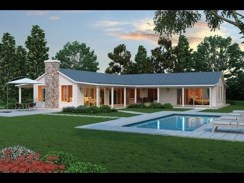 L Shaped House Design Simple Bungalow Style Youtube Ranch
