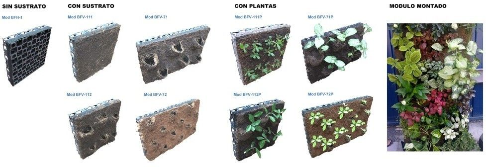sistemas urbanos drenaje sostenible jardines verticales