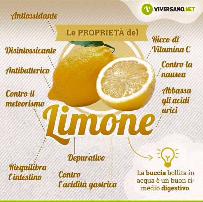 Limone Rimedi Rimedi Naturali Salute E Benessere