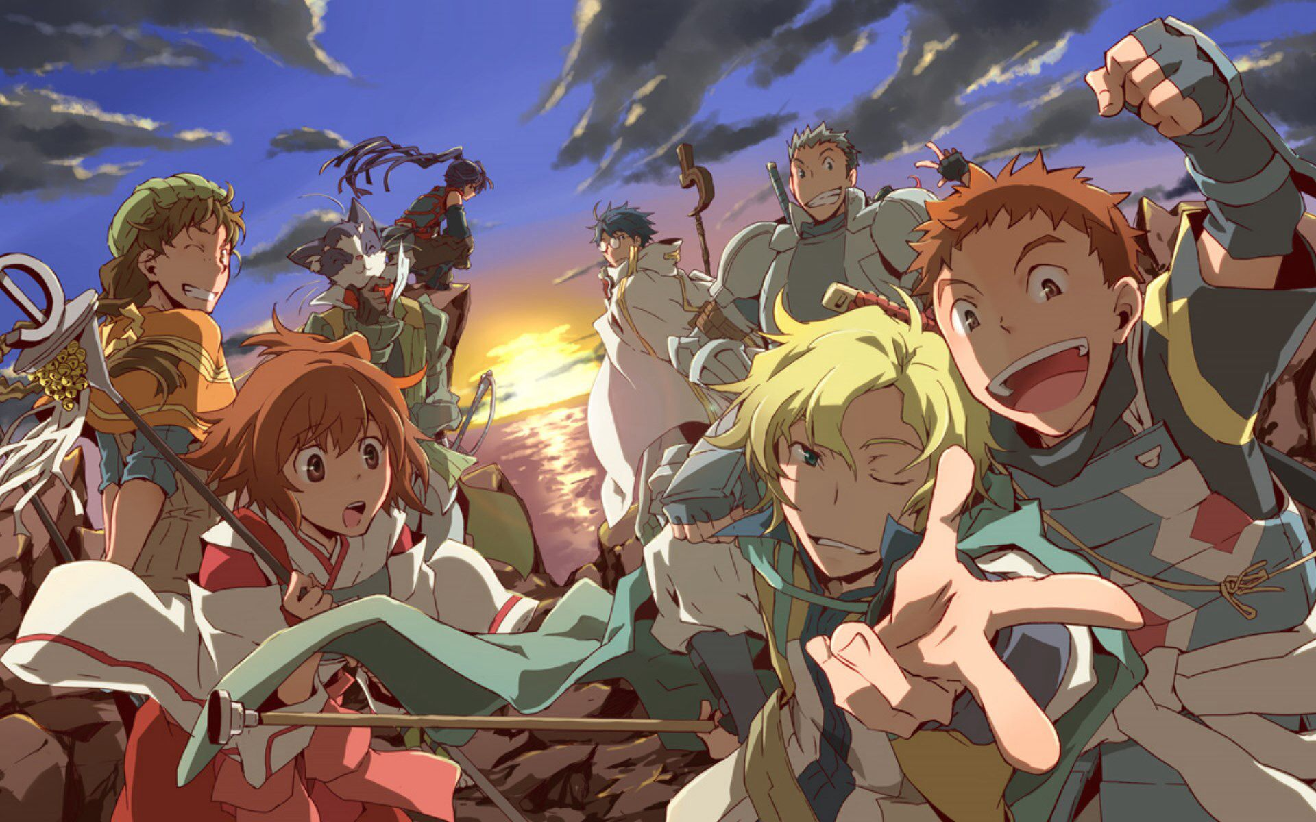 Image From Http Www Emptyblue It Data Wallpaper Loghorizon Log Horizon Nn0 Jpg Log Horizon Log Horizon Akatsuki Log Horizon Season 2 Anime wallpaper anime network