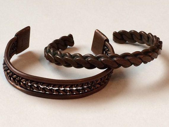 Vintage Copper Bracelet Lot of Bracelets by SuzyPoodleVintage
