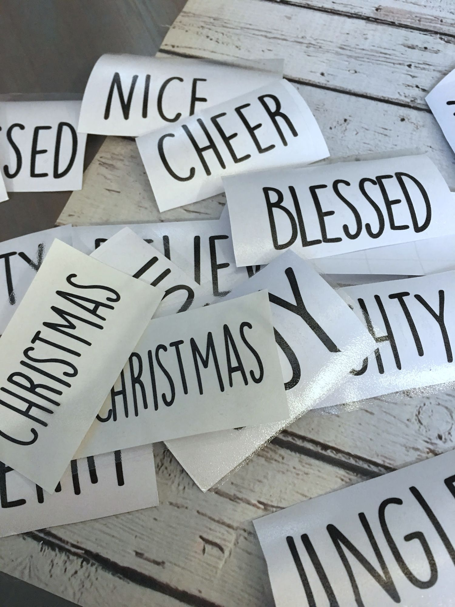 DIY Rae Dunn Inspired Ornaments to add to your Christmas