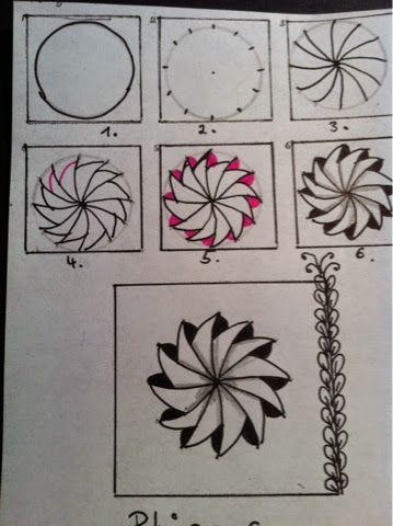 Zentangle Pattern Zentangle Pinterest Zentangle Zentangle