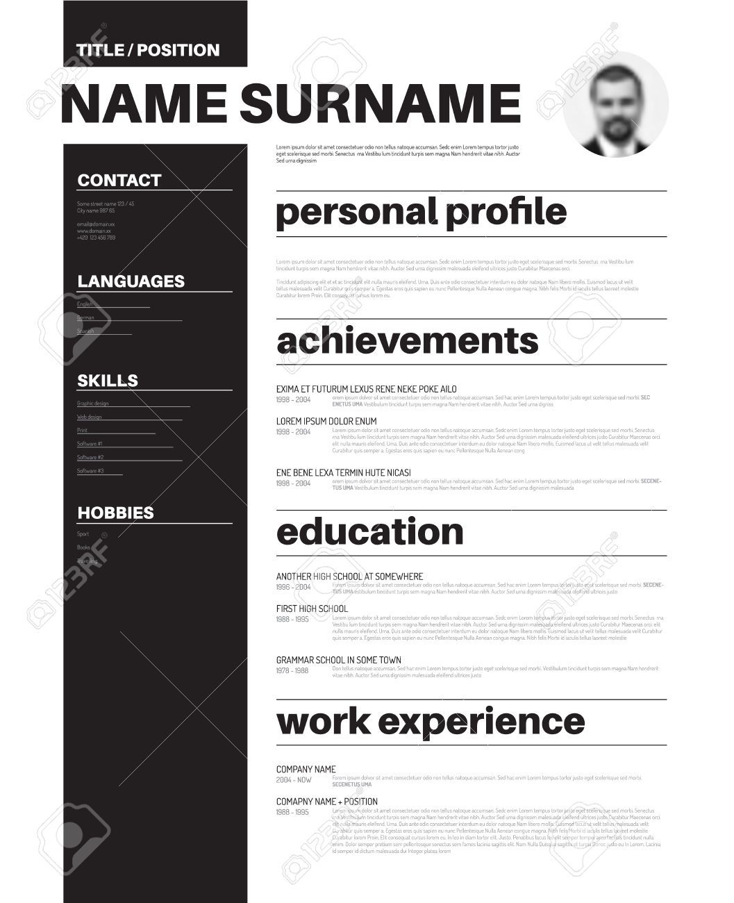 pin by tina shen on resume design