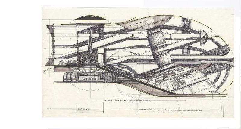 Syd Meads Werke werden in Berlin gezeigt Production