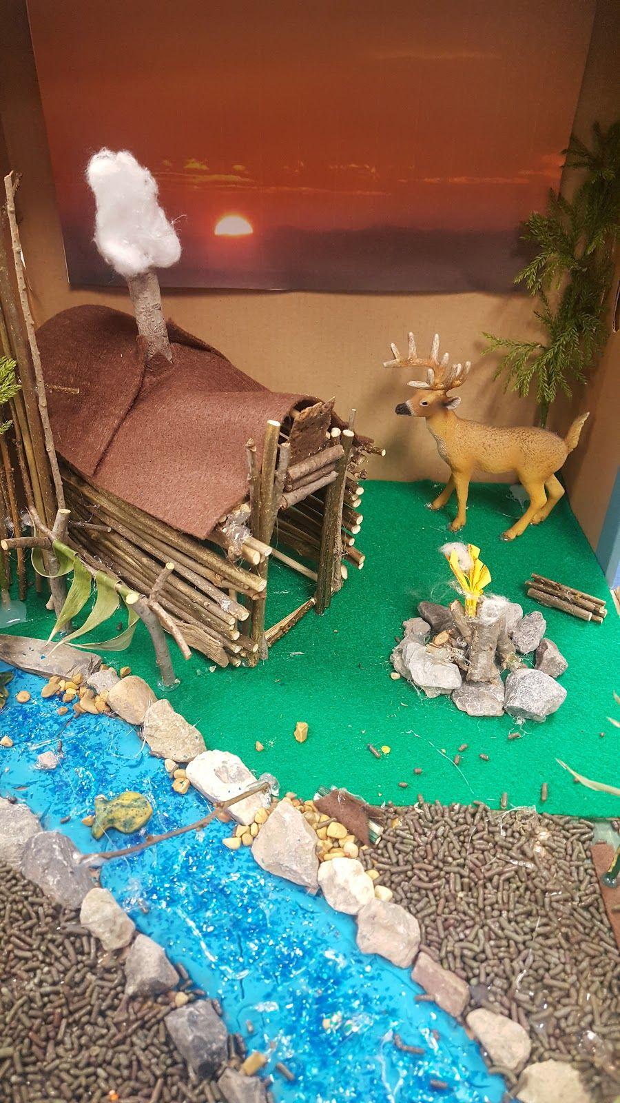 Native American Diorama Projects