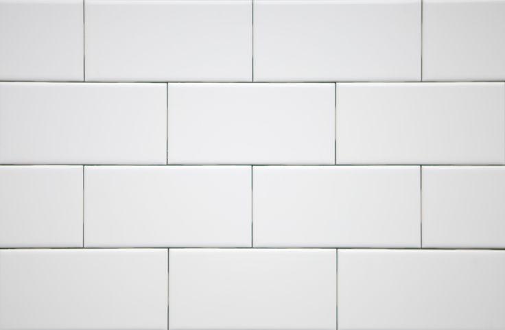 White Subway Tile Carvalho Branco